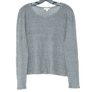 Standard James Perse Gray Long Sleeve B2